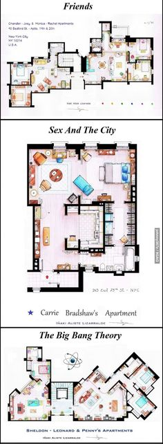 38 best movie tv floorplans images floor plans house floor plans rh pinterest com