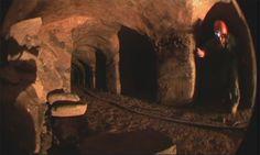 a scene from beneath the Hagia Sophia