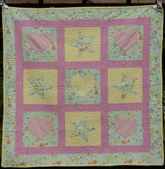 This will always be my favorite baby quilt.