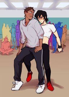 "l1ng: "" >:3;;;;;;;;; a scene from the same dance au fic... WHERE LANCE GRINDS ON KEITH!!!!! bye oh my go """