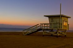 Lifeguard Stand - Hermosa Beach CA