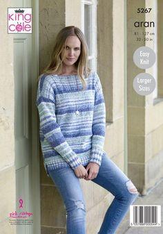 Stylecraft 9493 Sweater cardigan Knitting Pattern in jeanie wool