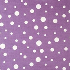 Pattern #20995 - 119 | Walton Collection | Duralee Fabric by Duralee | Purple polka dot fabric