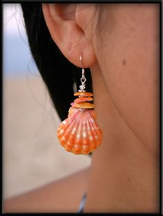 shell earring images   ... Sunrise Shell Earrings - Submit an Entry: Favorite Earring Design