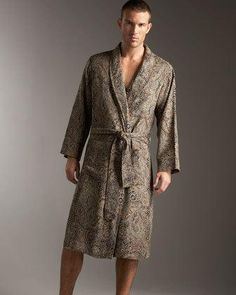 Paisley Robe by Sabira at Neiman Marcus. 44a420a7a