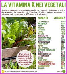 Il Calendario dell'Orto | Vitamine & Minerali