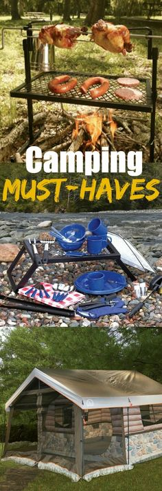 Must-Have Camping / Hiking Gear - Items that are sure to make your next camp or hike easier and more fun!