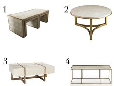 LDV Top 10: Coffee Tables