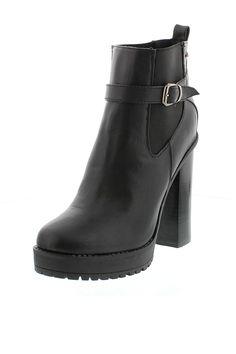 Venda Calçado tendência / 29074 / MTNG / Botins Chelsea Preto