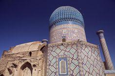 Gur Amir Mausoleum, Uzbekistan.