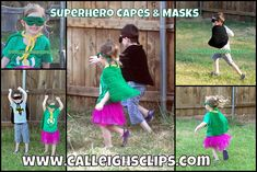 Superhero Capes and Masks Pattern Lookup Request Free Crochet Pattern in multiple sizes perfect for your Little Super Hero!