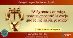 MISIONEROS DE LA PALABRA DIVINA: EVANGELIO - SAN LUCAS 15,1-10