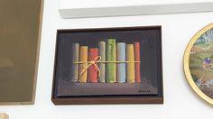 """""""Libros I"""", González de la Calle en #GaleríaEstampa #Madrid #Exposición """"Colección de bolsillo"""" #Arte #ArteContemporáneo #Contemporary#Art #Arterecord 2017 https://twitter.com/arterecord"""