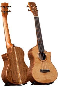 Kala Ukulele, Cool Ukulele, Music Instruments, Guitars, Presents, Woodworking, Play, Box, Unique