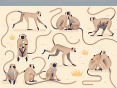 Chara design, rajouter des vêtements?  updlm. - theolduvaigorge: Mad About Monkeys: A Loving...