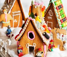 Recept: Pepparkakshus (gingerbread house)