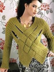 Resultado de imagen para chalecos para mujer tejidos a crochet