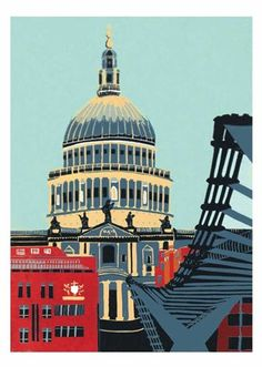 St Pauls by Jennie Ing from Blue Island Press