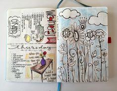 T. Matthews Fine Art: Bullet Journal - Pages 12-13
