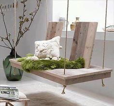 DIY Pallet Hanging Bed | Pallets Furniture Designs