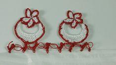 Ay Yıldız Tığ Oyası Yapımı ,  , Tığ oyası modellerinden şanlı bir örnek. Sıralı tığ oyaları arıyorsanız ve farklı , özel olsun diyorsanız işte sizlere süper bir mod... Crochet Videos, Crochet Earrings, Lace, Jewelry, Youtube, Napkin, Crochet Ornaments, Tricot, Jewlery