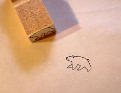 icebear rubber stamp