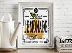 Old Fashioned Recipes, Poster Wall, Lemonade, Boutique, Interior, Home Decor, Products, Decoration Home, Indoor