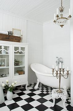 The Black & White Room
