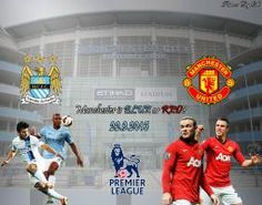 Manchester City vs Manchester United by PanosEnglish