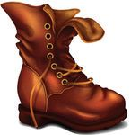 Vector Old Boot -