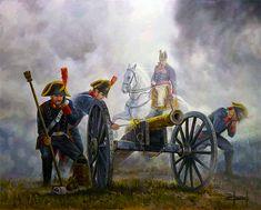 """""""Artilleros españoles de Reding en la batalla de Bailén, 18 - 22 de julio de 1808"""", José Ferre Clauzel"""