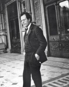 Gustav Mahler at the Vienna Court Opera, 1903.