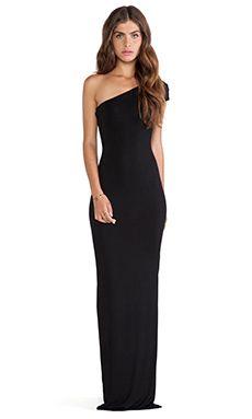 AQ/AQ Livia Maxi Dress in Black