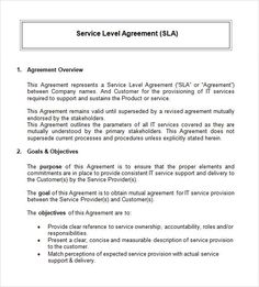 Simple Service Agreement Template Form Level Cover Letter Sample Resume