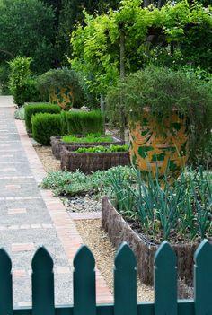 Le potager du jardin des Alpilles-Dominique Lafourcade