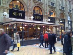 Caffe Biffi, in the Galleria, Milan