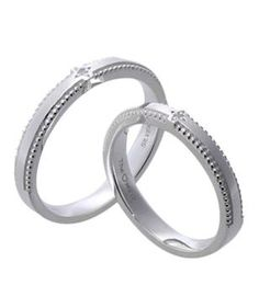 #LoveMarkPH Simple and Slim Silver Couple Ring: Made with 92.5% silver 1 piece of 1.2mm cubic zirconia [Item code: lr0007]
