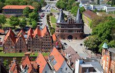 ღღ Lübeck, Germany - Holstentor