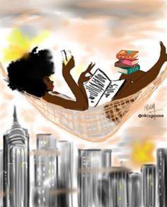 Black Girl Art, Black Women Art, Art Girl, Black Girls, African American Art, African Art, Books And Tea, Anime Negra, Arte Black