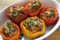 Töltött Paprika (stuffed pepper) | 32 #Hungarian Foods The Whole World Should Know And Love. #ilovetravel #foodie #recipe