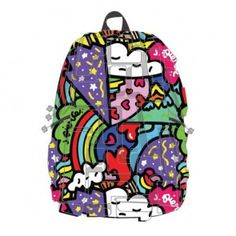 Artipacks BLOK Heart 2 Heart Fullpack Backpack by Madpax Urban Movies, Punk Tattoo, Eco Kids, Kids Backpacks, All Brands, Fashion Backpack, Unique Gifts, Packing, Bag