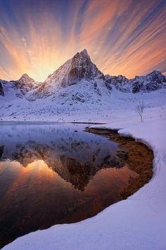 Barf Peak, Lofoten, Norway