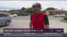 #Texas grandfather biking to #Oregon to help save granddaughter... #DonateLife