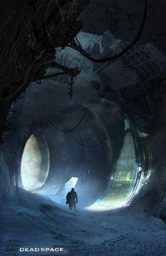 Dead Space 3- Environment Exploration by jasonfelix - Jason Felix - CGHUB