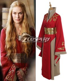 Game Of Thrones Queen Cersei Lannister Red Luxury Dress Intriguing Cosplay Costume #Everyone Can Cosplay! Cosplay costumes #Anime Cosplay Accessories #Cosplay Wigs #Anime Cosplay masks #Anime Cosplay makeup #Sexy costumes #Cosplay Costumes for Sale #Cosplay Costume Stores #Naruto Cosplay Costume #Final Fantasy Cosplay #buy cosplay #video game costumes #naruto costumes #halloween costumes #bleach costumes #anime