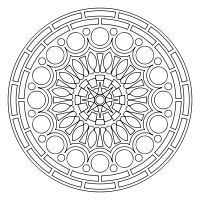 Design & download your own mandala designs. This is pay dirt for my coloring addiction!