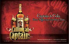 captain morgan - Captain Morgan, Great Night, Whiskey Bottle, Drinks, Board, Drinking, Beverages, Drink, Beverage
