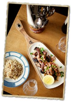 St Katherines restaurant in Kew, Victoria.  Delicious modern Greek inspired food for sharing