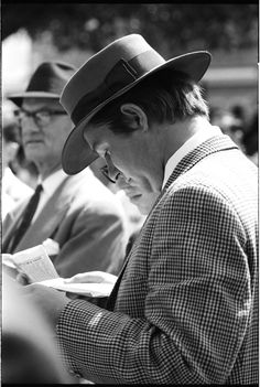 This photograph is another of David Mist's Randwick Racecourse images shot for his 1969 publication, Sydney: a book of photographs.