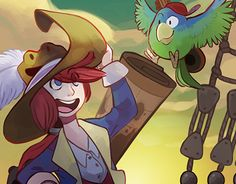 """Check out new work on my @Behance portfolio: """"Captain Coconuts - Guilda Jobs #1"""" http://be.net/gallery/48522725/Captain-Coconuts-Guilda-Jobs-1"""